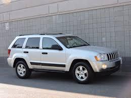 grey jeep grand cherokee used 2006 jeep grand cherokee laredo at auto house usa saugus