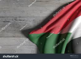Old Sudan Flag 3d Rendering Sudan Flag Waving On Stock Illustration 535865110