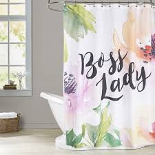 Botanical Shower Curtains East Home Botanical Shower Curtain Reviews Wayfair