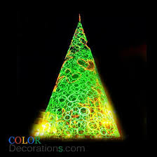 cd tr108 outdoor cone trees decorations acrylic