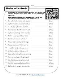 questioning adverbs adverbs worksheets and free printable