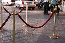stanchion rental rent party equipment nationwide tents chairs and tables