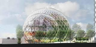 siege amazon 3 domes de verres géants nouveau siège d amazon à seattle