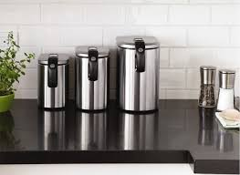 kitchen canister sets australia 18 kitchen canister sets stainless steel 12th and white