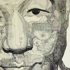 Sho Green doodle portraits