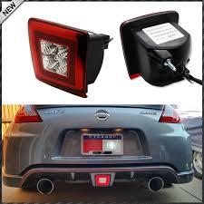 nissan 370z tail lights jdm style rear fog light led assembly for 2009 up nissan 370z