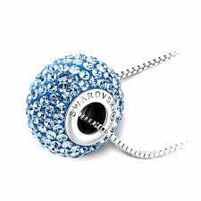 round pendants necklace images Lovengifts swarovski round glitter pendant necklace color jpg