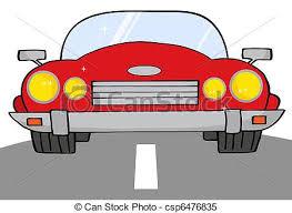 cartoon convertible car red convertible car on a road red cartoon convertible car