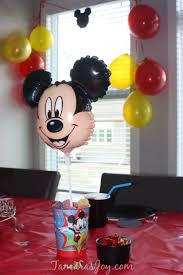 Mickey Mouse Table by Diy Mickey Mouse Birthday Party Decor Tamara U0027s Joy