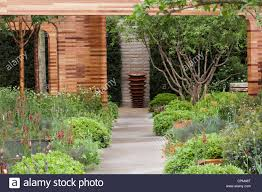 Contemporary garden design at RHS Chelsea Flower Show 2012 Homebase Teenage Cancer Trust Garden Designer Joe Swift