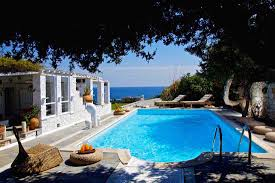 aegean style swimming pool design for small spaces with a semi