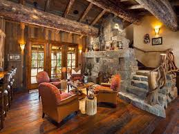 living room elegant rustic living room ideas with stone wall
