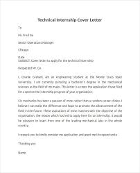 internship cover letter cover letter for information technology internship 1043
