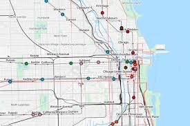Chicago Transit Authority Map by Map Of Chicago Union Station Humphreydjemat Co