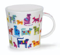 dunoon lomond colourful cats mug 26 78 you save 4 72