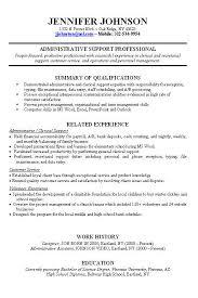 Resume Strengths Examples by Download Work History Resume Haadyaooverbayresort Com