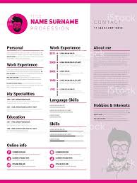 Resume Templates Minimalist by Illustration Resume Free Resume Example And Writing Download