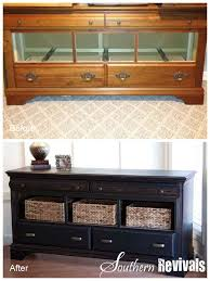 Pottery Barn Inspired Diy Dresser Southern Revivals Pottery Barn Style Dresser Revival No
