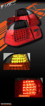 red bmw e46 smoked red m3 led tail lights for bmw e46 convertible cabrio 330ci
