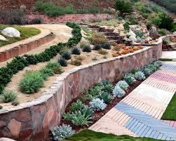 Retaining Wall Ideas For Gardens Leveling Landscape Blocks Best Backyard Retaining Walls Ideas On