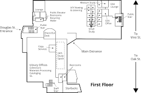Floor Plan Library by Maps Utc Library
