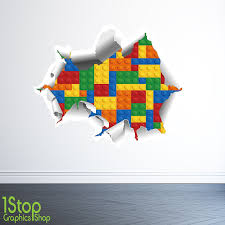 1stop graphics lego wall sticker 3d full colour boys lego 1stop graphics lego wall sticker 3d full colour boys lego batman graphic c323 size large amazon co uk kitchen home