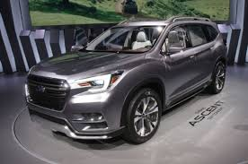 subaru pickup concept updated subaru shows off ascent three row suv concept