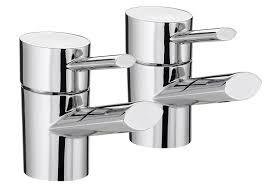 bristan ol 1 2 c oval basin taps chrome plated amazon co uk