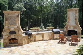 backyards charming backyard wood oven outdoor kitchen wood oven
