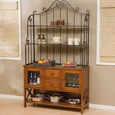 gallery bakers rack with wine storage home painting ideas