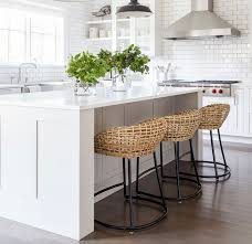 best counter stools awesome wicker counter stools of gray rattan stool throughout