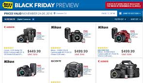 black friday best buy deals black friday camera deals starting on november 24th at bestbuy
