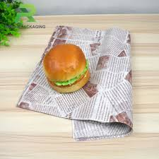 burger wrapping paper buy cheap china custom sandwich paper products find china custom