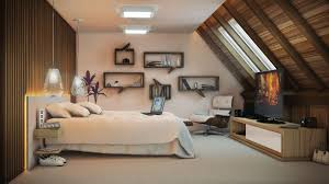 Attic Bedroom Ideas Bedroom Cool Attic Bedroom Ideas With Brown Wood Floor And Small