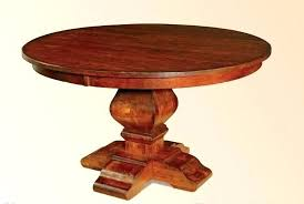 solid wood pedestal kitchen table solid wood pedestal table glass table top on cherry wood pedestal