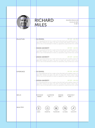 minimalistic resume psd settings content flash player 9 creative resume design tips with template exles