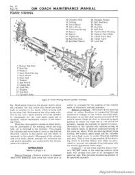 4106 gm bus coach supplement service maintenance manual