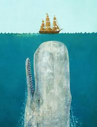 terry fan the whale art print there are apparently a lot of huge whale and tiny boat images