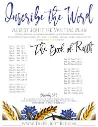 inscribe the word august scripture writing plan u2014 the