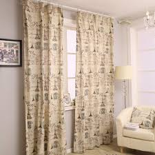 good quality linen and cotton french taste eco friendly curtains