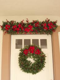 Christmas Decorations For Front Door Porch by Christmas Front Door Decorations The Enchanted Manor
