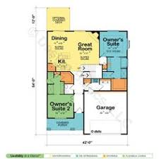 house plan with two master suites dual master bedroom house plans dual master or owner bedroom