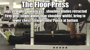 how to perform the floor press best bench press for upper chest