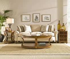 transitional style coffee table majestic cream fabric midcentury sofas as well as oval wooden coffee