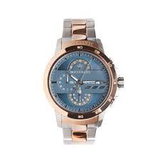 rose gold maserati car ingegno watch steel rose gold watches