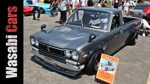 nissan sunny 2002 modified hakotora the hakosuka skyline faced sunny truck 09racing youtube