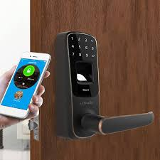 home design door locks last minute smart home door lock ultraloq ul3 bt fingerprint