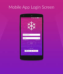 behance login app login screen on behance
