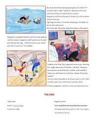 story book pinocchio