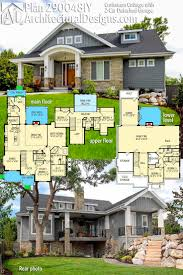 115 best craftsman house plans images on pinterest craftsman architectural designs craftsman cottage house plan 290048iy has a barrel arched covered entry and comes